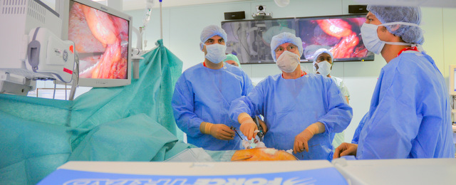 Pôle hépato-digestif de l'hôpital civil