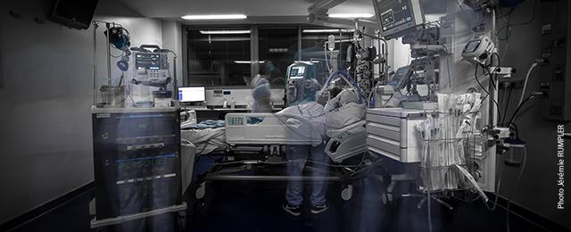Service de réanimation médicale du Nouvel Hôpital civil (NHC)